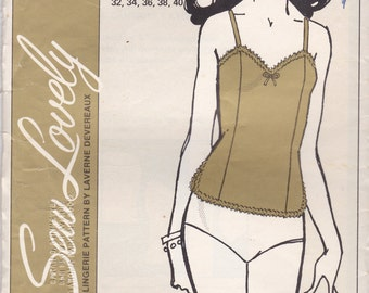 Camisole Pattern Sew Lovely CA400 Bust 32 - 40 Uncut