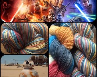 The Force Awakens-- 462 yds/ Sock Yarn