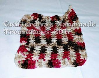 Trivet, Potholder, Kitchen Decor, Handmade Trivet, Handcrocheted Trivet