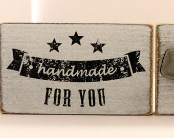 Wood stamps handmade for you