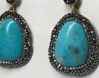 Turquoise Earring Pair