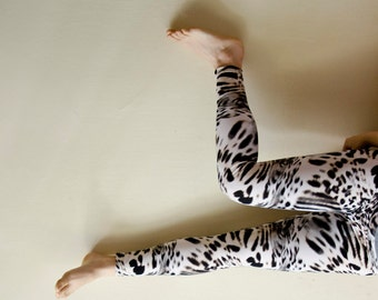 Animal Print Leggings, Plus Sizes Available, Gift for her