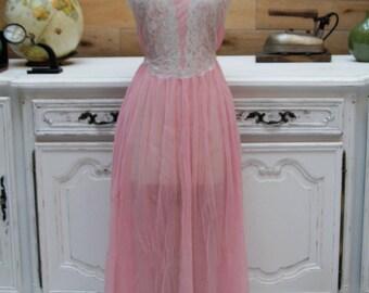 Vintage Babydoll Sleeping Gown