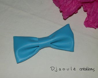 Hair bow * turquoise *-large format