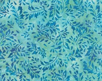 Moda LOS CABOS BATIKS Quilt Fabric 1/2 Yard - Water 4335 17