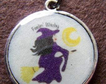 Feelin Witchy Pendant