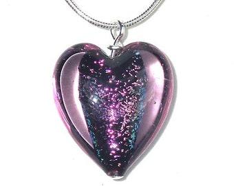 100% Murano Glass Heart