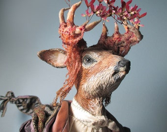 SPECIAL OFFER: Anthro Art Doll Rainer Buck Poet