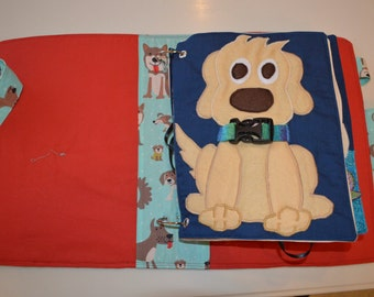 PDF pattern: Dog Collar quietbook page