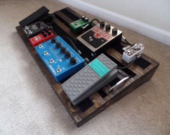 Hand Made PedalBoard for guitar or bass