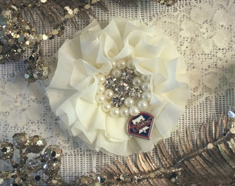 MLB Philadelphia Phillies Ivory Lace Wedding Garter | Wedding Garter Set | Sports Garter | Bridal Shower Gift | Bridal Gift