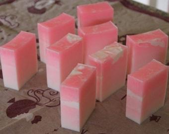 Pink Ombre Goats Milk Soap