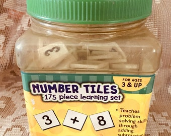 Number tiles by the paper group