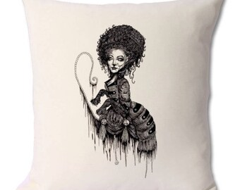 Leo Zodiac Gothic star sign cushion