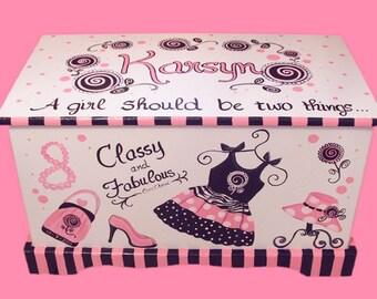 Glamour Girl Toy Chest Custom Designed
