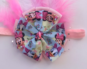 Hairbows , hair bands , hair clip , hair accessory , baby bow , baby shower Gift