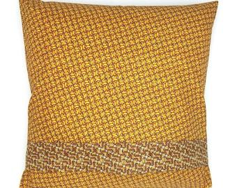 """Cushion """"Eole & honey"""""""