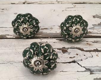 Knobs, Decorative Pull Knob, Craft Supply, Furniture Upgrade Ceramic Drawer Pulls, Home Improvement Cabinet Supplies