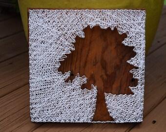 Custom Tree String Art