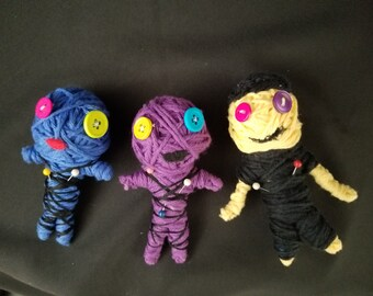 Yarn Voodoo Dolls