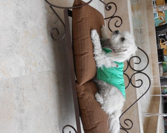 """Pet Bed, made with fine wrought iron hand forged, hand made 31 1/2"""" x 15 3/4"""" x 6"""""""