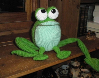 ZAZA the frog