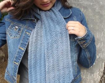 Wind & Sea Scarf Knitting Pattern