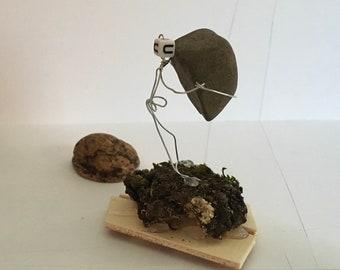Yew ~ wire miniature