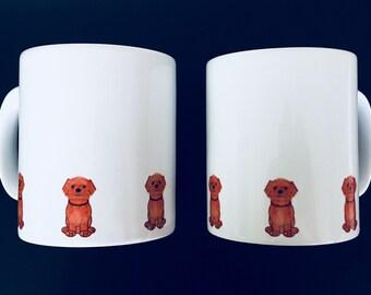 Shihtzu cross dog mug by Desjigns