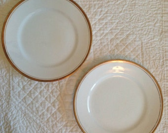 Laughlin Empress Bread Plates - Set of 2
