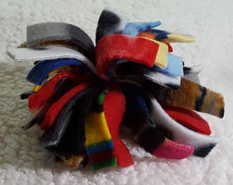 Fleece dog toy