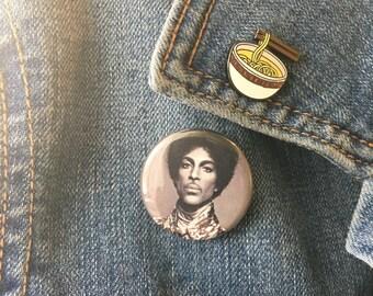 """Prince Button Pinback 1.25"""""""