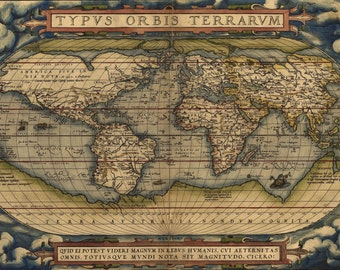 old world map, world wall map, vintage maps, old world, #93