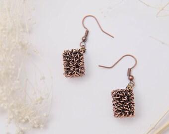 Knit The Wire - Earrings