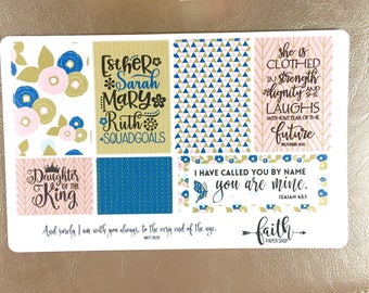 Scripture stickers for Bible Journaling or Planner. Christian stickers, Happy Planner, Bible, Planner Stickers, Crossway ESV.  Squad Goals