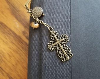 Beautiful Cross Bookmark