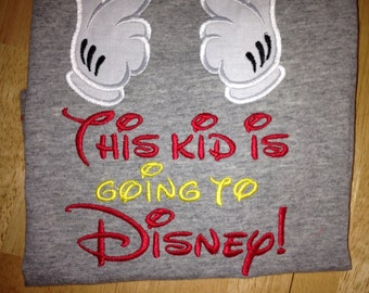 Custom Going to Disney shirts