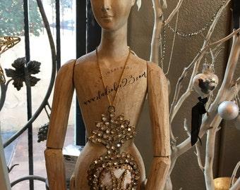 Blanco Madame Santos Cage Doll - Mannequin - Form