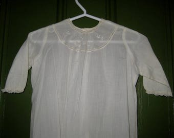 Sweet Antique Baby Gown