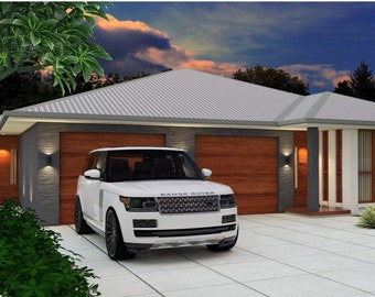 183m2 | 5 Bed dual key home design | 3 X 2 Bed Dual Key Design| Dual  blueprint | modern Dualkey design | Australian Dual Key design |Sale