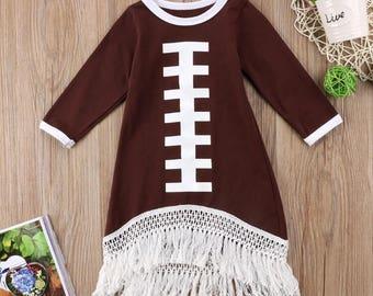 Football fringe dress