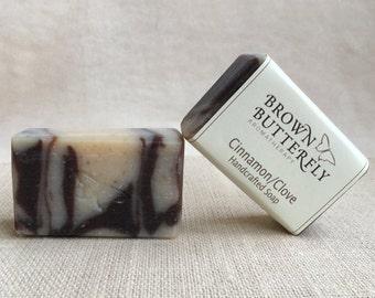Handcrafted Cinnamon & Clove Soap