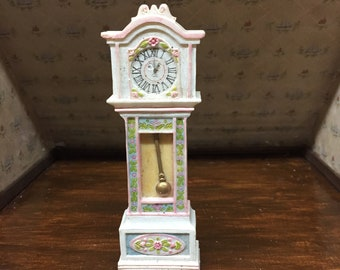 Shabby Chic Pastel Grandfather Clock