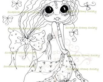 INSTANT DOWNLOAD Digital Digi Stamps Big Eye Big Head Dolls Messy Bessy IMG818 My Besties By Sherri Baldy