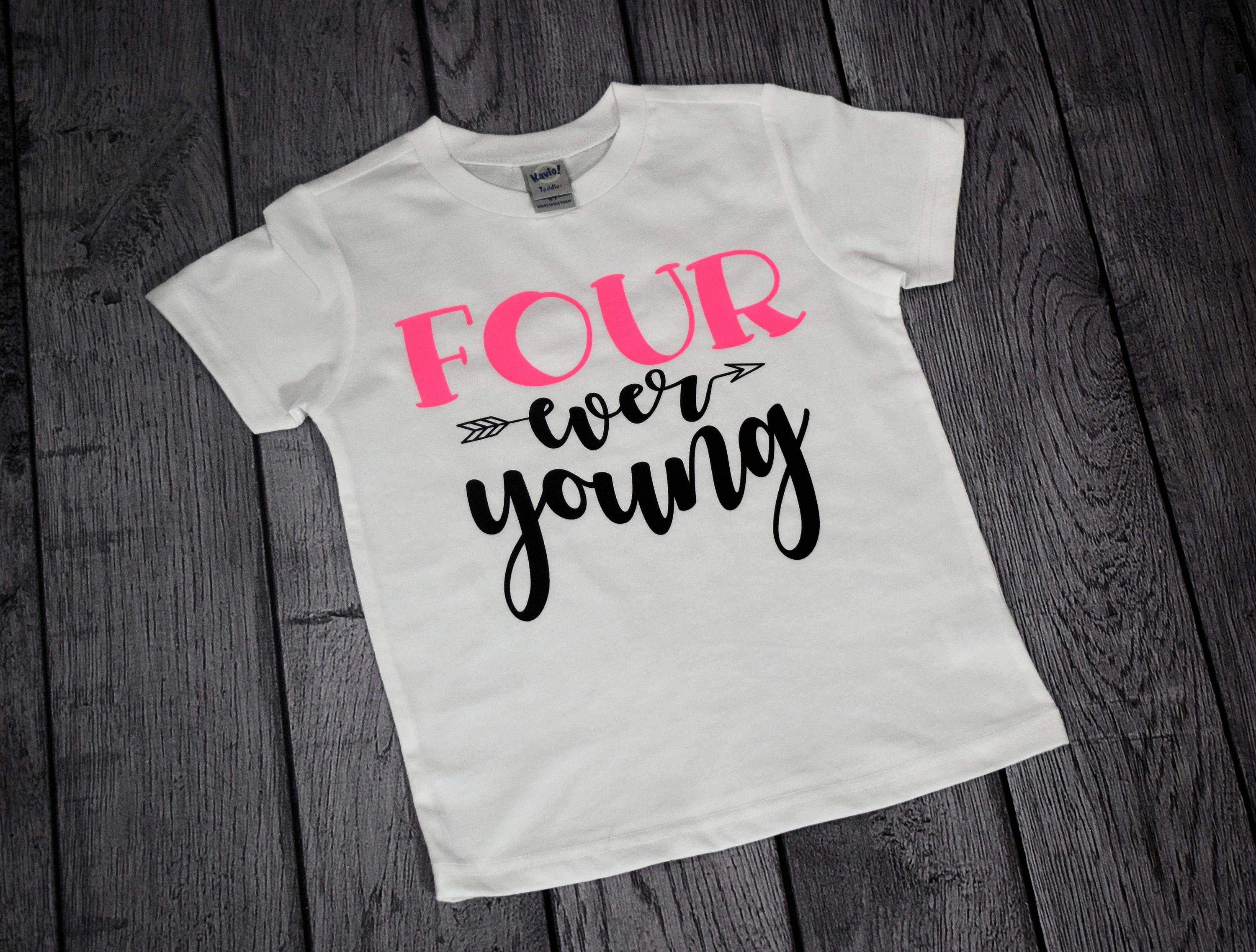 Birthday Girl Shirts For 4 Year Old