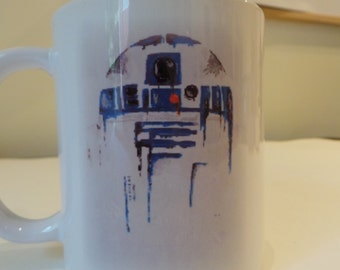 R2D2 Star Wars Fan Art Ceramic Mug