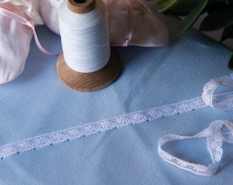 """French Valenciennes Lace- (LFV14EDG770)1/4"""" edging"""
