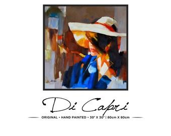 Summer Days | Original Oil Painting On Canvas | Modern Art | 05