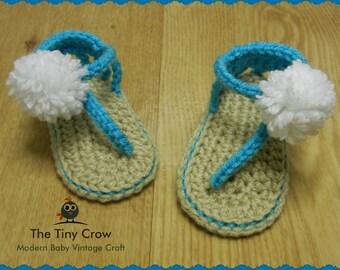 Baby Girl Sandals, Summer Sandals, Baby Sandals, Crochet Baby, Baby Gift, Baby Shower, Trendy Baby, Gender Reveal, Baby Shower Gift