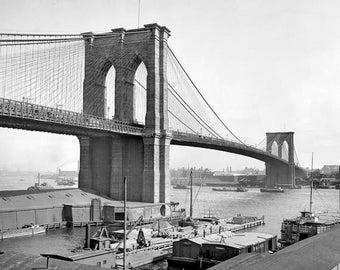 Brooklyn Bridge 1900's Photo